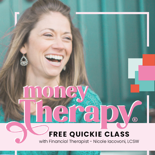Nicole Iacovoni Invites You To Join The Free 3-Day Money Therapy Quickie Class Signup Here
