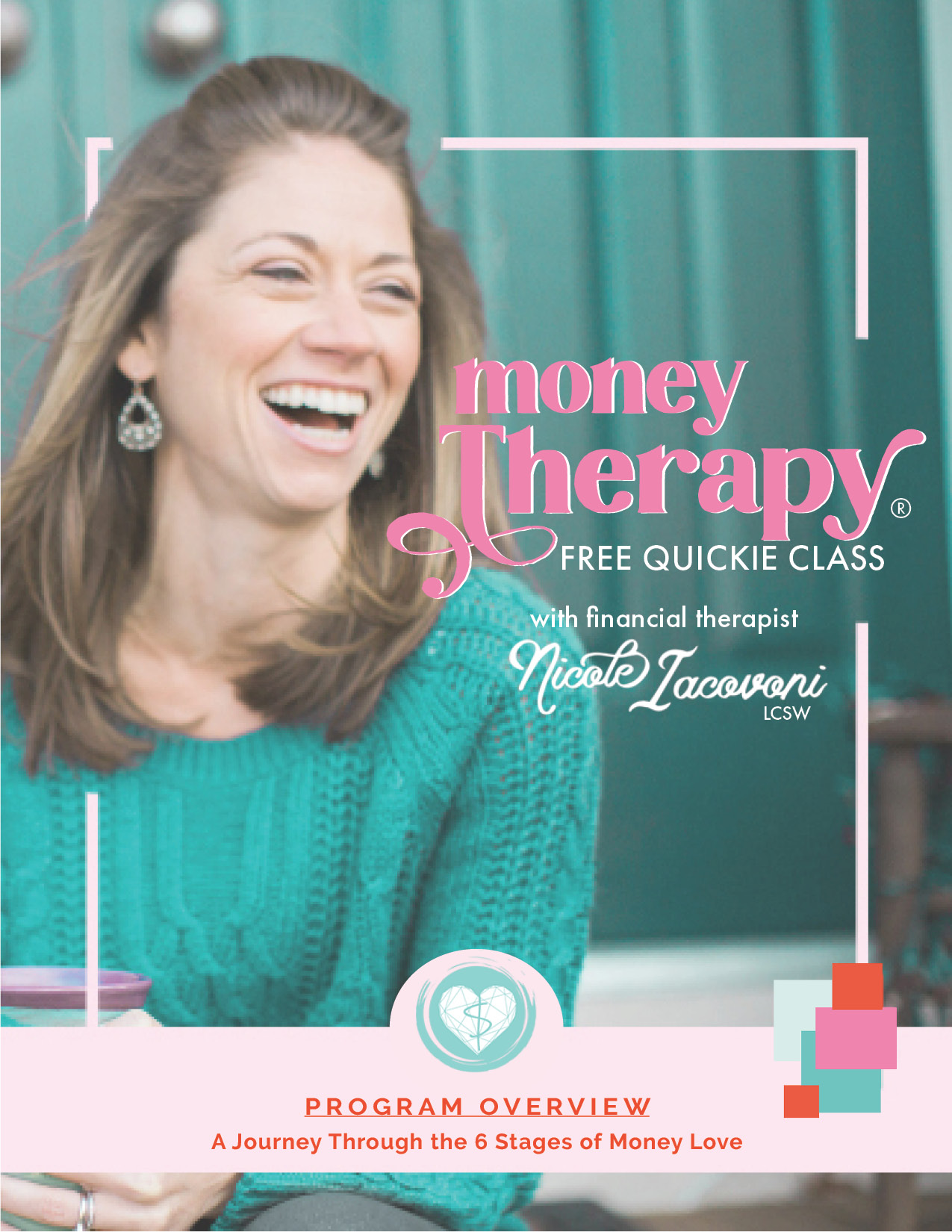 Money Therapy Online Program Workbook Cover